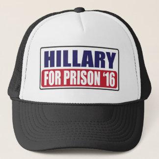 Boné Hillary para a prisão 2016