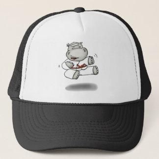 Boné Hipopótamo do karaté
