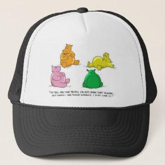 Boné Hipopótamos com fome! - Chapéu