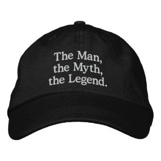 Boné Homem, mito, chapéu da legenda