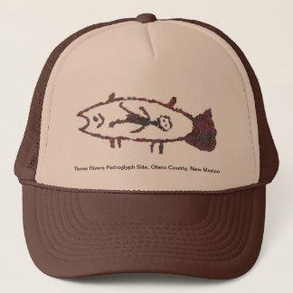 Boné Homem nos peixes, chapéu da imagem 2 dos peixes