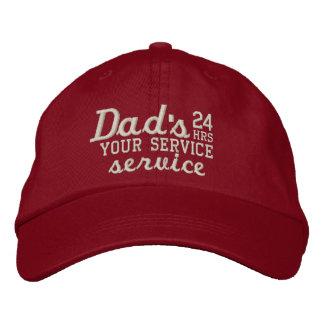 Boné Horas customizáveis do serviço do pai as 24 têm o