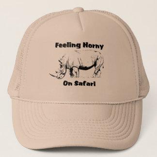 Boné Horny do safari do rinoceronte