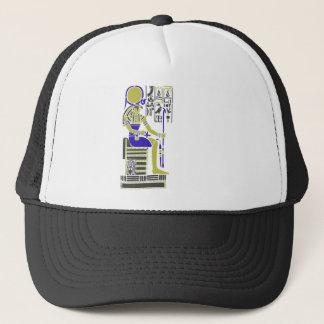 Boné Horus o falcão Egyption Heiroglyph