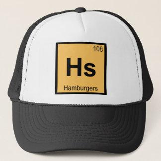 Boné HS - Símbolo da mesa periódica da química dos