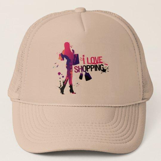 "Boné ""I Love Shopping"""