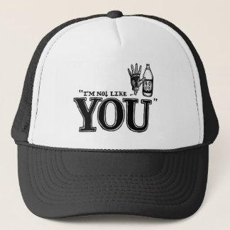 Boné I´m not Truckercap like you - Snapback - Cap -