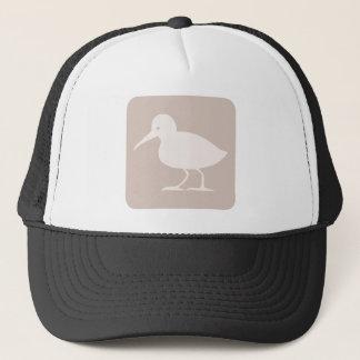 Boné Ícone comum do pássaro do borrelho