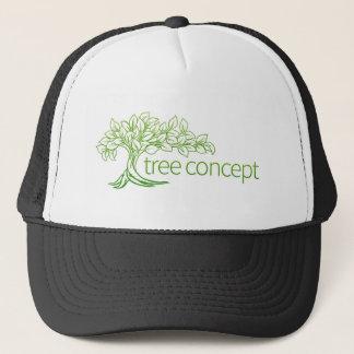 Boné Ícone do conceito da árvore