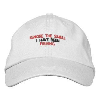 Boné Ignore o chapéu da pesca do cheiro