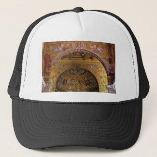 Boné igreja ornamentado para dentro