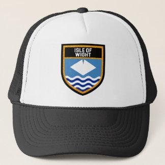 Boné Ilha da bandeira do Wight
