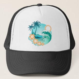 Boné Ilha havaiana 1