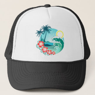Boné Ilha havaiana 2