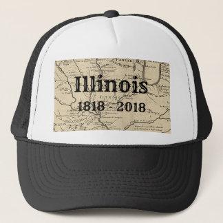 Boné Illinois histórico bicentenário