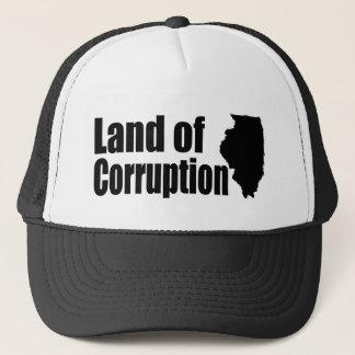Boné Illinois: Terra da corrupção