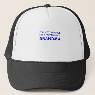 Boné Im não aposentado Im uma avó profissional