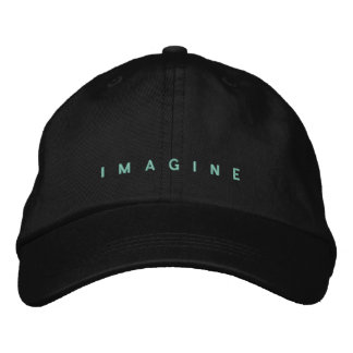 Boné Imagine bordou o chapéu