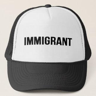 Boné Imigrante - os E.U. EUA América resistem o