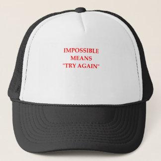 BONÉ IMPOSSÍVEL