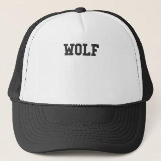 Boné Impressão agradável do lobo