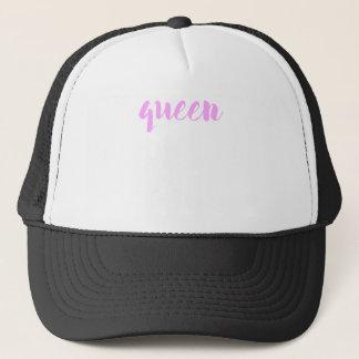 Boné Impressão da rainha
