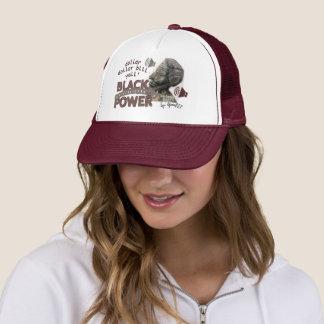 Boné Impressão marrom da comunidade do preto do chapéu