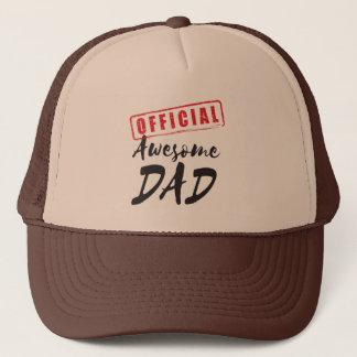 Boné impressionante oficial do pai - dia dos pais