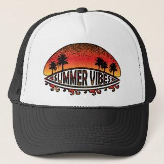 Boné Impressões do verão - pôr do sol infinito