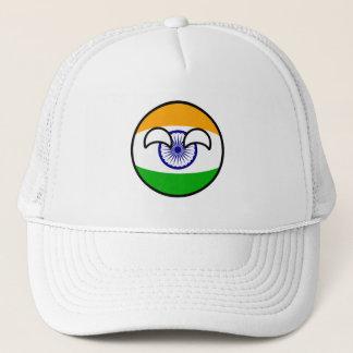 Boné India Geeky de tensão engraçado Countryball