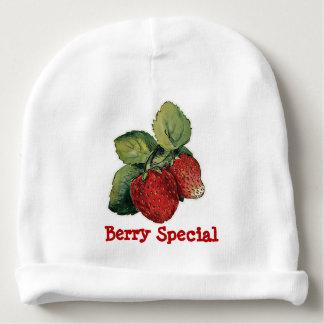 Boné infantil do bebê de Strwberry Gorro Para Bebê