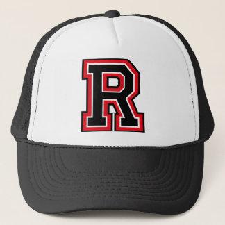 """Boné Inicial do monograma """"R"""""""