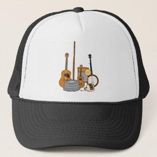 Boné Instrumentos da banda de jarro
