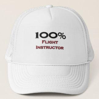 Boné Instrutor de um vôo de 100 por cento