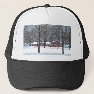 Boné Inverno no parque