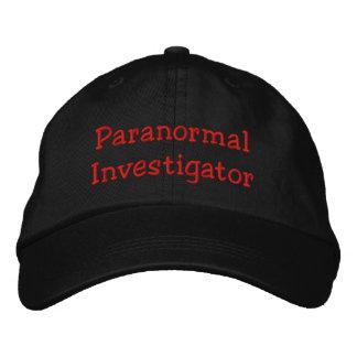 Boné Investigador Paranormal
