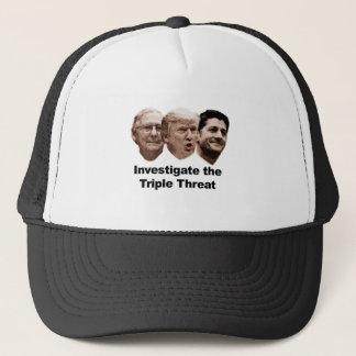 Boné Investigue a ameaça tripla