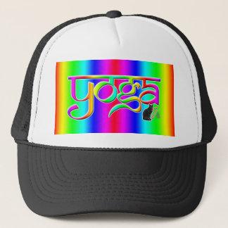 Boné Ioga da banda do arco-íris
