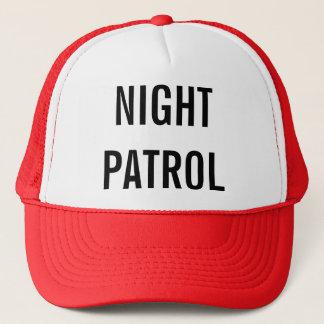 Boné Ir na patrulha da noite