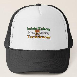 Boné Irlandês hoje Hungover amanhã
