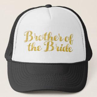 Boné Irmão do ouro da noiva