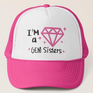 Boné Irmãs da GEMA - eu sou um chapéu da GEMA
