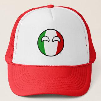 Boné Italia Geeky de tensão engraçada Countryball