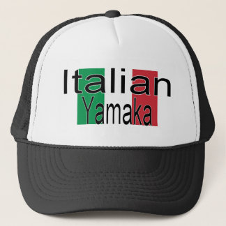 Boné Italiano engraçado Yamaka do chapéu