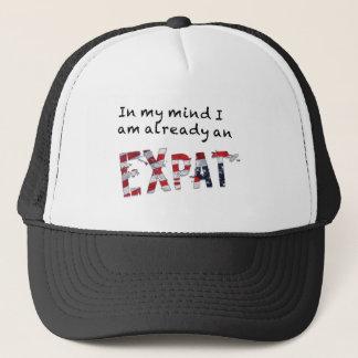 Boné Já um Expat na minha mente