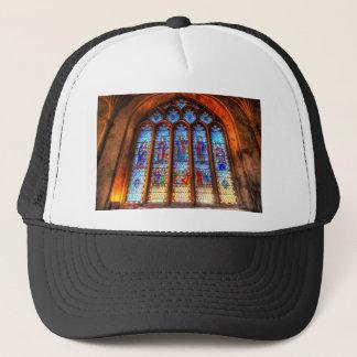 Boné Janela da abadia do vitral