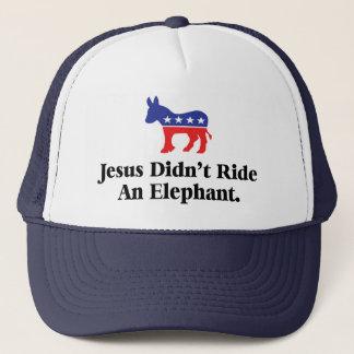 Boné Jesus não montou um elefante - partido Democrática