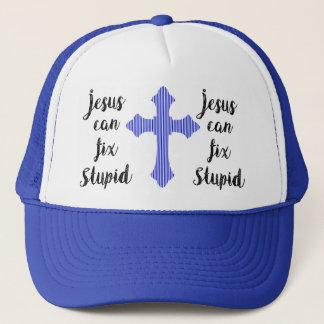 Boné Jesus pode fixar estúpido