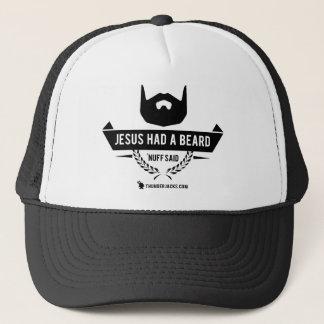 Boné Jesus teve uma barba