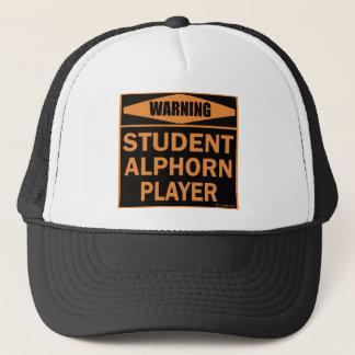 Boné Jogador de Alphorn do estudante